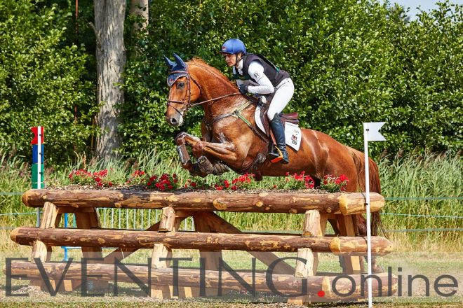 alice naber lozeman competing at eventing emmeloord by eventing photo