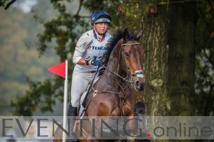 Dani Evans riding Raphael II at Military Boekelo 2013 Photo by Eventing Photo