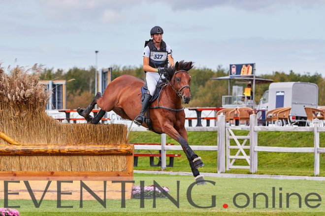 Jarno Verwimp competing Mahalia at Dutch Open eventing photo by Eventing photo