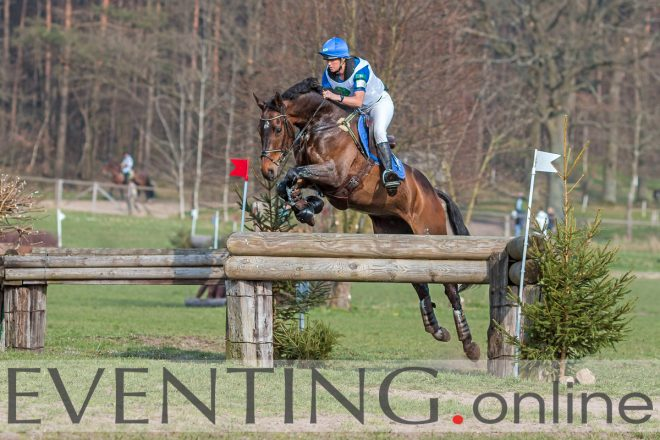 Karin Donckers met Fletcha van't Verahof foto Eventing Photo