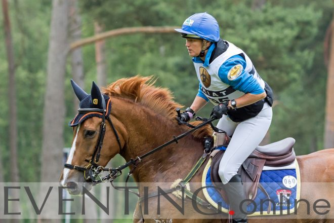 Karin Donckers en Lamicell Unique at Luhmühlen photo by Eventing Photo