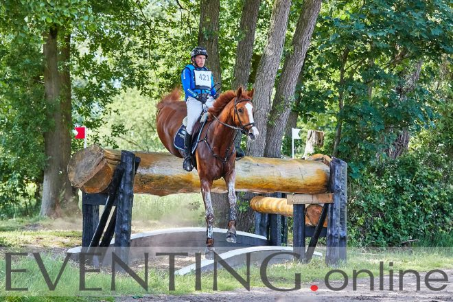 Tim Lips competing Eclips at Renswoude Horse Trials 2019 photo by Eventing Photo