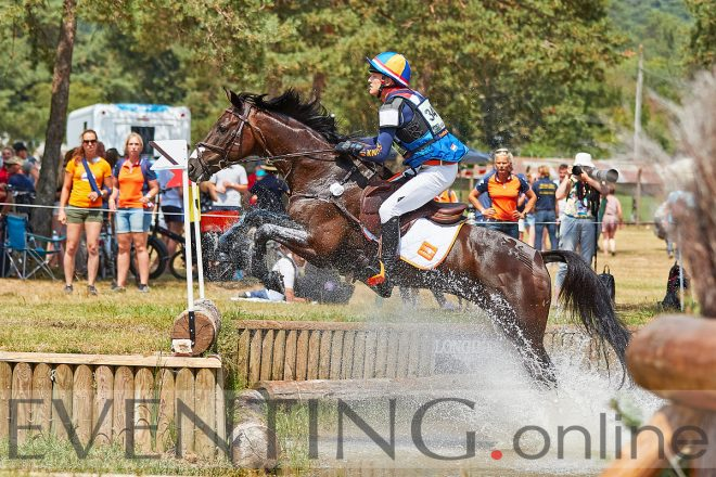 Bjinse Venderbosch (NED) Lord Mayor | Fontainebleau 2018 © photo Eventing Photo